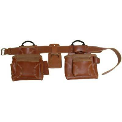 8. Custom Leathercraft 21448 4 Piece Pro Framers Tool Belt