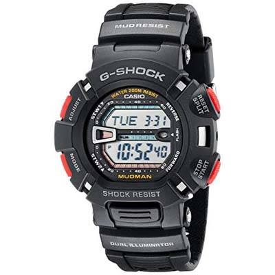 10. Casio Men's G-Shock G9000-1 Sport Watch