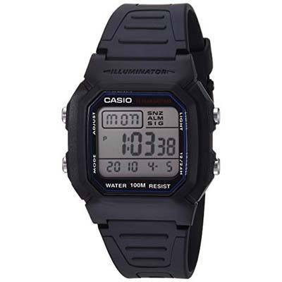 1. Casio Men's Classic W800H-1AV Sport Watch