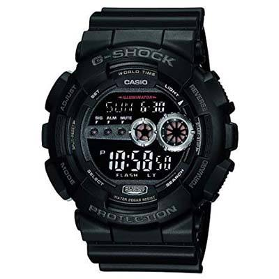 6. Casio Men's GD100-1BCR G-Shock Digital Sports Watch