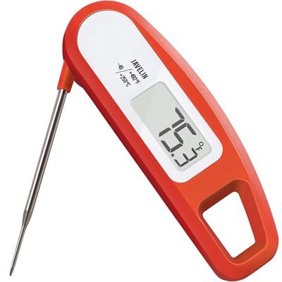1. Lavatools PT12 Digital Read Meat Thermometer (Chipotle)
