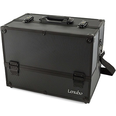 3. Lenubo – Glenor Beauty Makeup Train Case