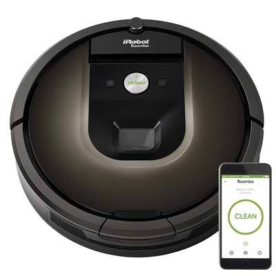 7. iRobot Roomba 980 Robot Vacuum with Wi-Fi Connectivity