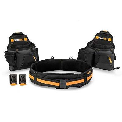 1. ToughBuilt – Tradesman Tool Belt Set – 3 Piece (TB-CT-111-3)