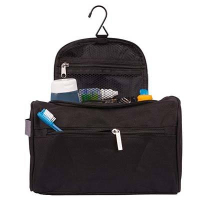 10. TravelMore Hanging Travel Toiletry Bag for Men and Women
