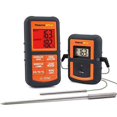 2. ThermoPro TP-08S Wireless Remote Digital Meat Thermometer