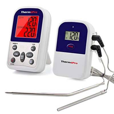 5. ThermoPro TP12 Wireless Digital Meat Thermometer
