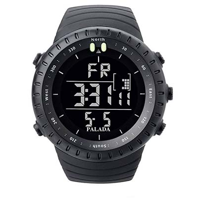 8. PALADA Men's Sports Digital Wrist Watch