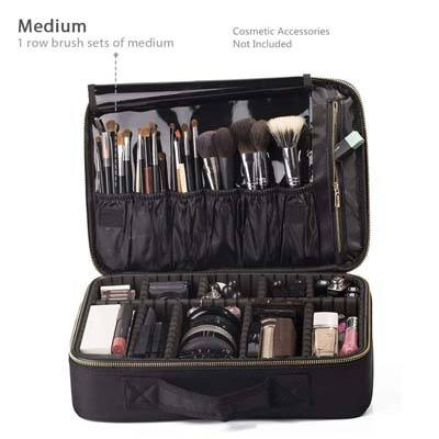 "2. ROWNYEON Makeup Train Case 14.1"" – 14.6"""