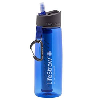 2. LifeStraw Water Bottles with 2-Stage Integrated Filter Straw