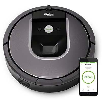 6. iRobot Roomba 960 Robot Vacuum with Wi-Fi Connectivity