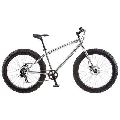 2. Mongoose Men's Malus Fat Tire Bicycle
