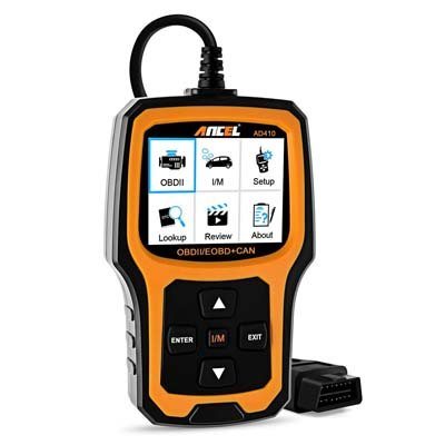 10. ANCEL AD410 OBD II Code Reader Automotive Scanner