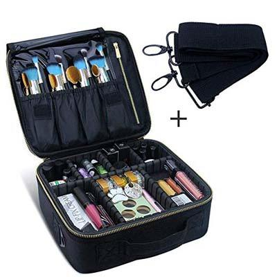 9. Chomeiu Travel Makeup Case
