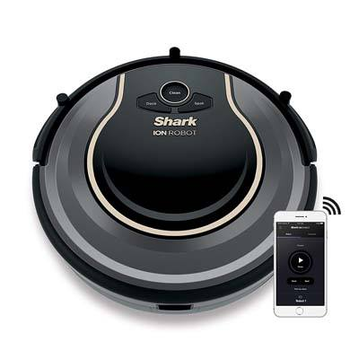8. Shark ION Robot Vacuum WIFI-Connected (RV750)