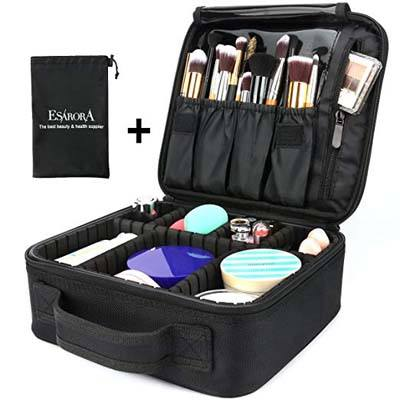 5. Esarora Travel Makeup Bag