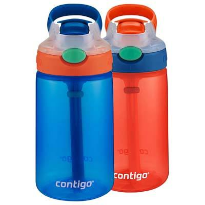 5. Contigo 2035752 Water Bottle (2-Pack)