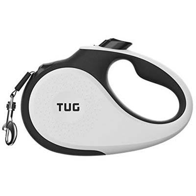 2. TUG Patented 360° Retractable Dog Leash with Anti-Slip Handle