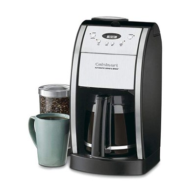 6. Cuisinart DGB-550BK 12 Cup Automatic Coffeemaker Grind