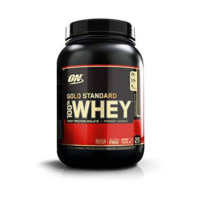 2. Optimum Nutrition Gold Standard 100% Whey Protein Powder, Double Rich Chocolate 2LB