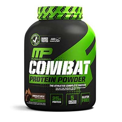 5. MusclePharm Combat Protein Powder