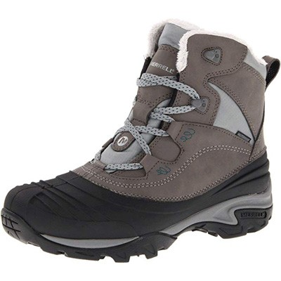 6. Merrell Women's Snowbound Mid Waterproof Winter Boot