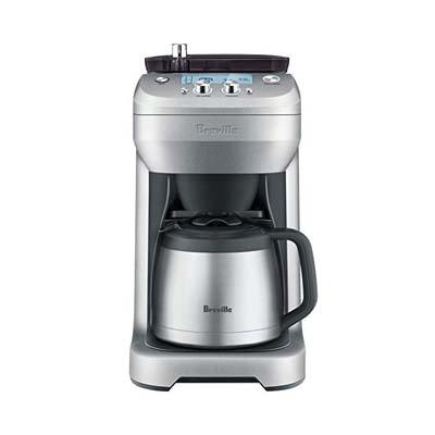 8. Breville BDC650BSS Grind Control, Silver