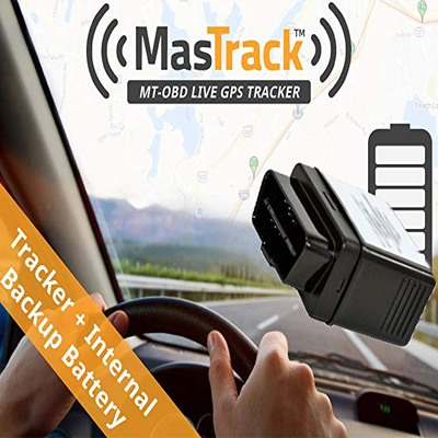 10. MasTrack OBD Real Time GPS Vehicle Tracker
