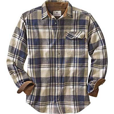 1. Legendary Whitetails Men's Buck Camp Flannel Shirt