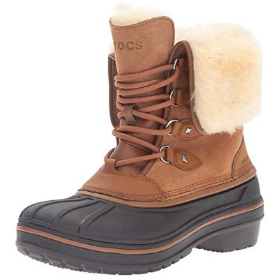 10. Crocs Women's AllCast II Luxe Snow Boot