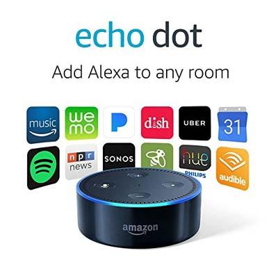 1. Amazon Echo Dot (2nd Generation) – Smart speaker with Alexa