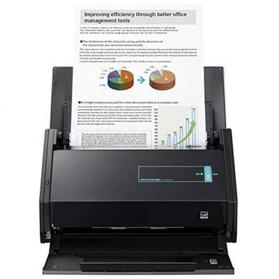 2. Fujitsu ScanSnap iX500 Scanner for Mac and PC