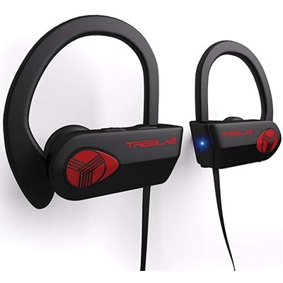 3. TREBLAB XR500 Bluetooth Headphones w/Mic