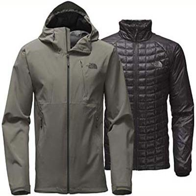 10. The North Face Thermoball Triclimate Jacket – Men's