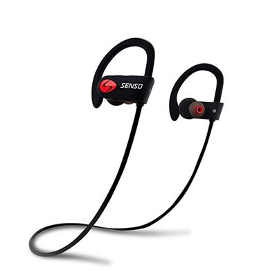 1. SENSO Bluetooth Headphones w/Mic