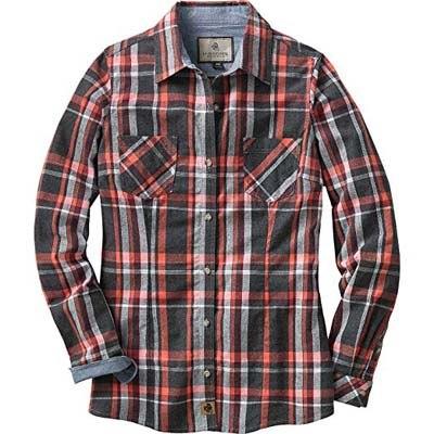 1d44ef31333 Legendary Whitetails Women's Cottage Escape Flannel Shirt