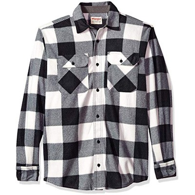 2. Wrangler Authentics Men's Shirt Jacket