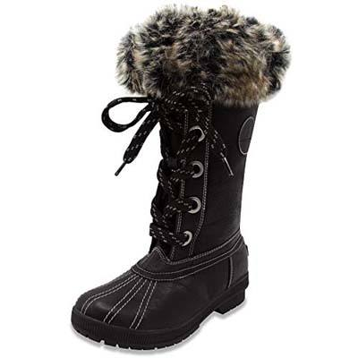 2. London Fog Waterproof Snow Boot