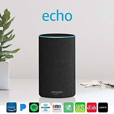 2. Amazon Echo (2nd Generation) – Smart speaker with Alexa