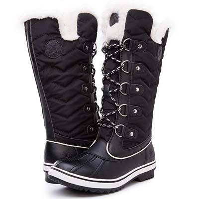 2. Kingshow Womens Globalwin Waterproof Winter Boots