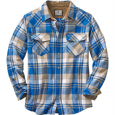 10. Legendary Whitetails Men's Shotgun Flannel Shirt