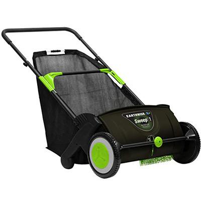 9. Earthwise LSW70021 Lawn Sweeper, 21-inch