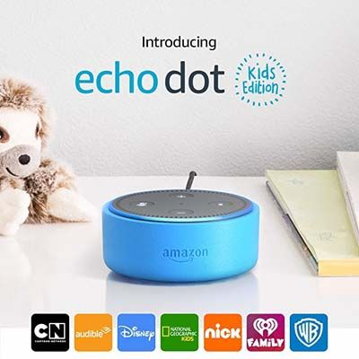 8. Amazon Echo Dot Kids Edition, a smart speaker with Alexa