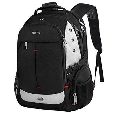 8. YOREPEK Large Laptop Backpack