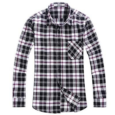 5. OCHENTA Men's Flannel Shirt