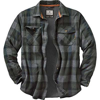 7. Legendary Whitetails Men's Archer Thermal Lined Flannel Shirt
