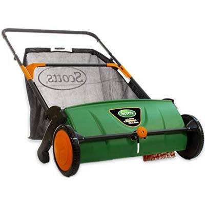 10. Scotts LSW70026S 26-inch Push Lawn Sweeper