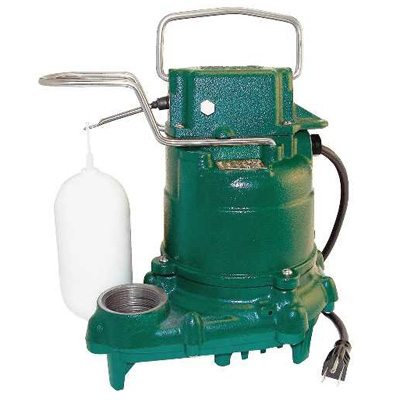 4. Zoeller M53 Mighty-mate Submersible Sump Pump