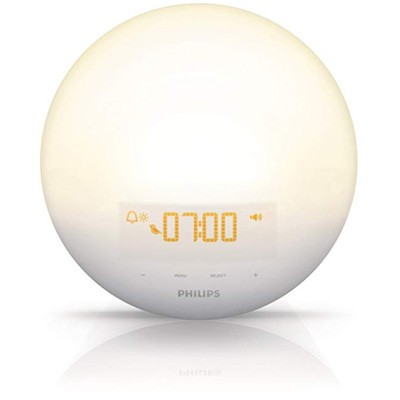 10. Philips HF3510 Sunset and Sunrise Stimulation Alarm Clock