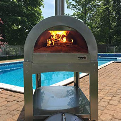 2. IlFornino Basic Wood Fired Pizza Oven